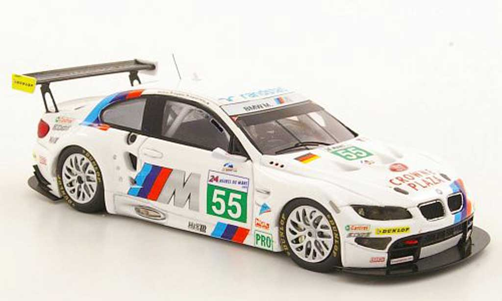 Bmw M3 E92 1/43 Spark GT No.55 Motorsport 24h le Mans 2011 diecast model cars