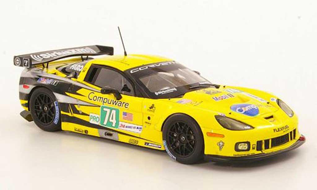 Chevrolet Corvette C6 ZR1 1/43 Spark No.74 Racing 24h Le Mans 2011 diecast