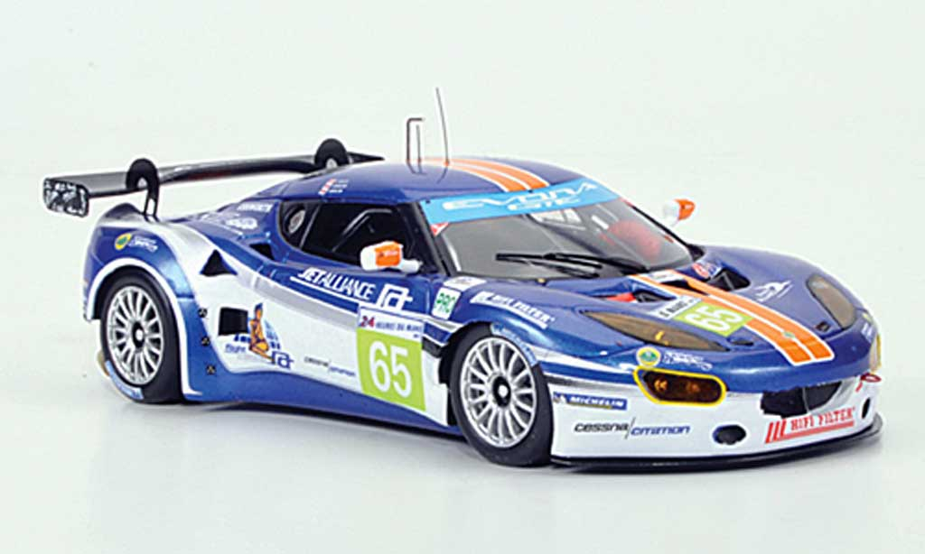 Lotus Evora 1/43 Spark No.65 Jet Alliance 24h Le Mans 2011 miniature