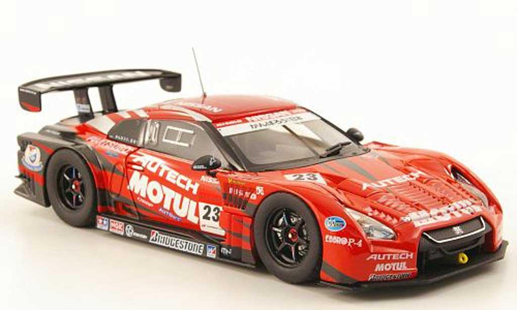 Nissan Skyline R35 1/43 Ebbro GT-R No.23 Motul / Autech Super GT500 Fuji 2011 miniature