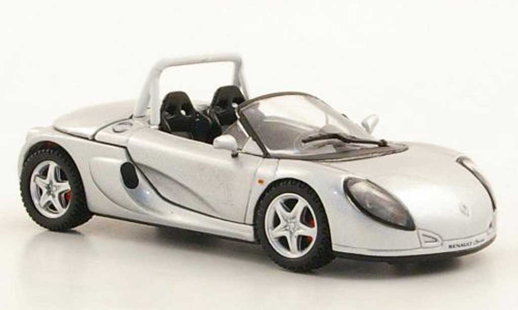 Renault Spider 1/43 Norev grise  1995 miniature
