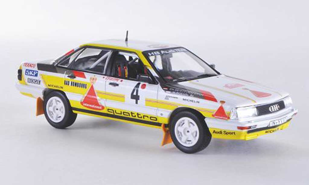 Audi 200 quattro 1/43 Norev No.4 HB Team W.Rohrl / Ch.Geistdorfer Rally Monte Carlo 1987 miniature