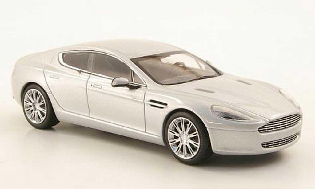 Aston Martin Rapide 1/43 Minichamps grise 2010 miniature