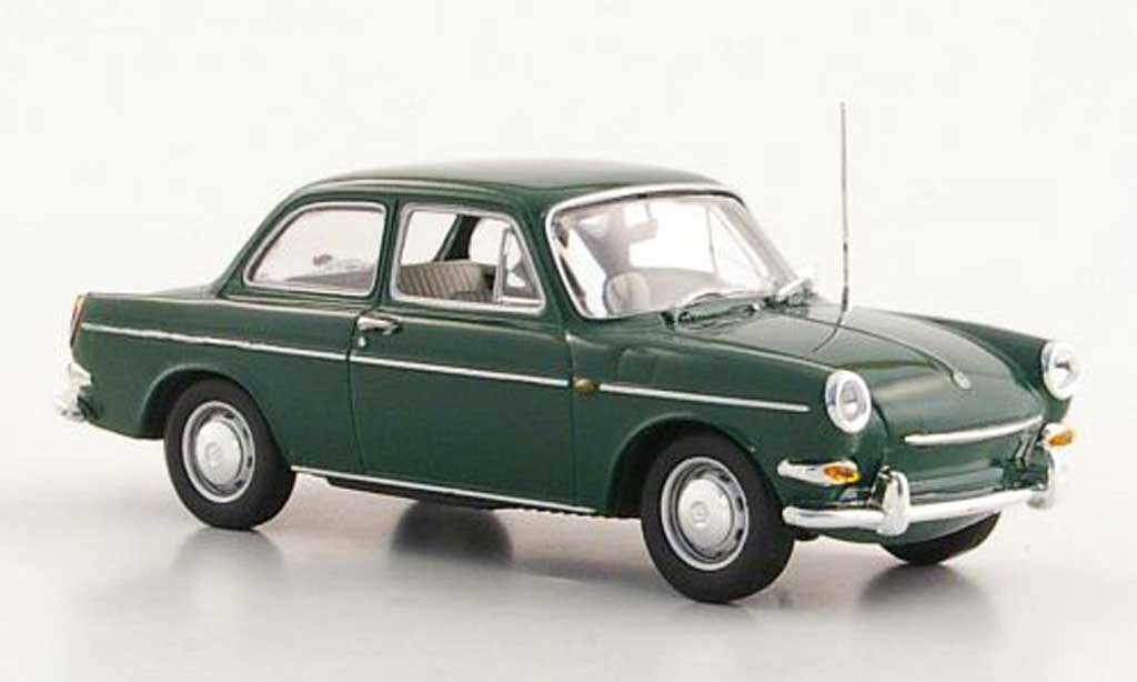 Volkswagen 1600 1/43 Minichamps green 1966 diecast