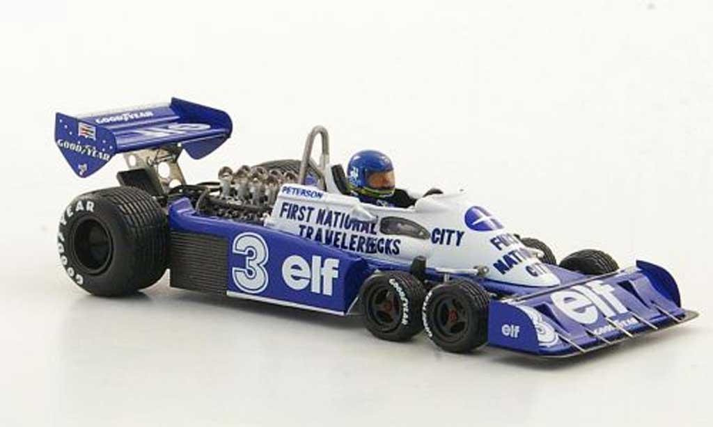 Tyrrell P34 1/43 TrueScale Miniatures No.3 elf R.Peterson GP Belgien 1977 miniature