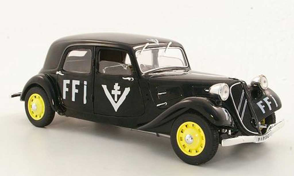 Citroen Traction 11 1/18 Solido B FFI 1944 miniature