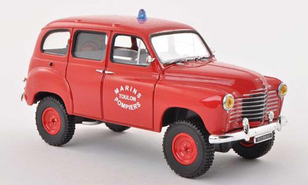 Renault Colorale 1/43 Solido 4x4 Marins Pompiers Toulon pompiers (F)  1953