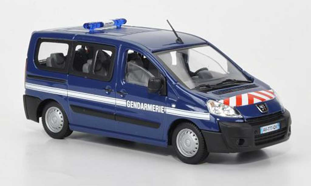 Peugeot Expert 1/43 Solido Tepee Gendarmerie 2007 miniature