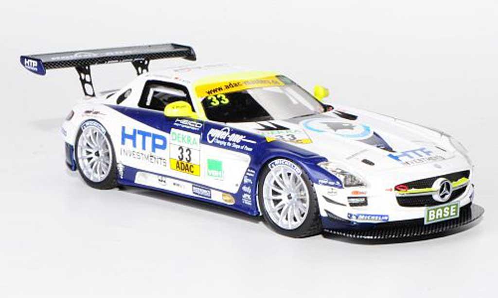 Mercedes SLS 1/43 Schuco AMG GT3 No.33 Heico Motorsport C.Frankenhout / A.Wirth ADAC GT Masters-Saison 2011 miniature