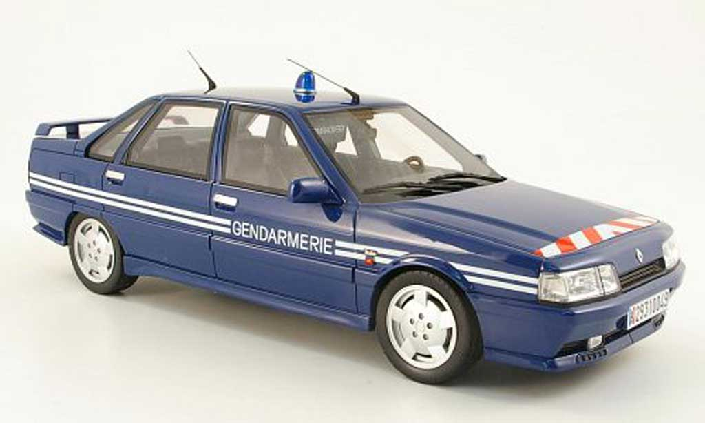 Renault 21 Turbo 1/18 Ottomobile Turbo gendarmerie 1993 miniature