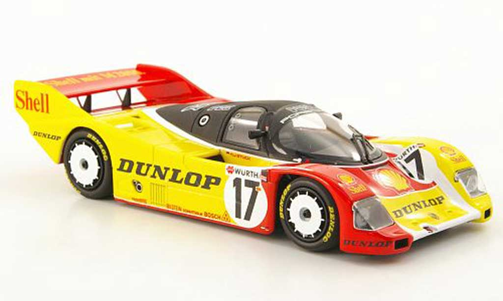 Porsche 962 1987 1/43 Minichamps C No.17 S H.J. Stuck Norisring diecast model cars