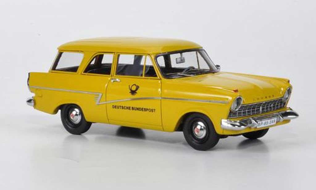 Ford Taunus 1957 1/43 Neo P2 17m Turnier Deutsche Bundespost limited edition miniature