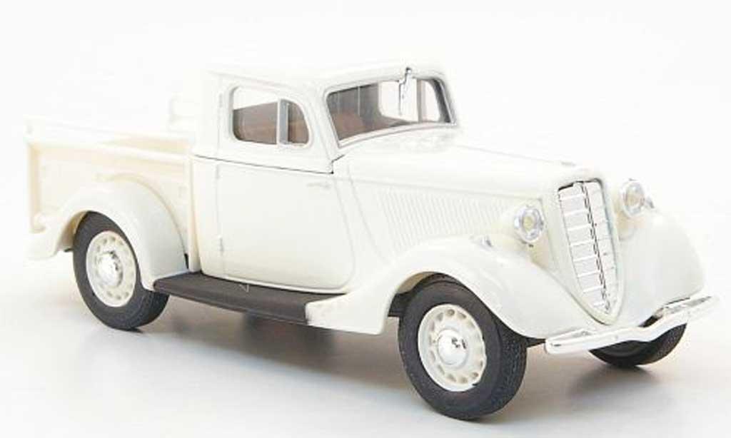 Gaz M415 1/43 Nash Avtoprom Pick Up blanche miniature