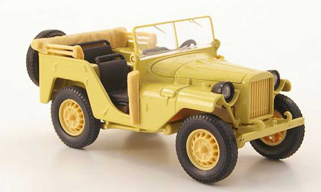 Gaz 64 1/43 Nash Avtoprom jaune miniature