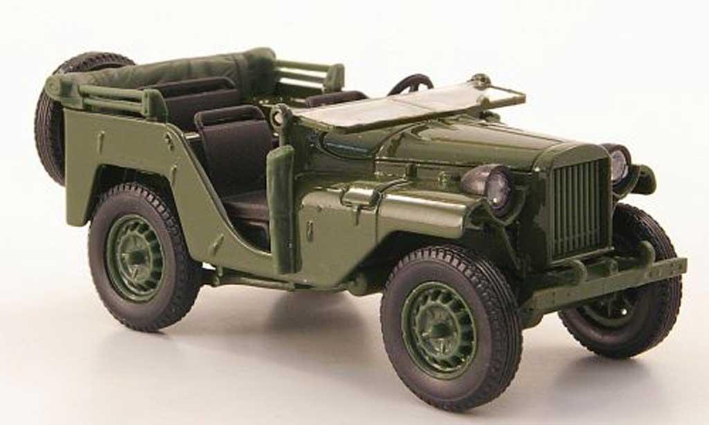 Gaz 64 1/43 Nash Avtoprom grun miniature