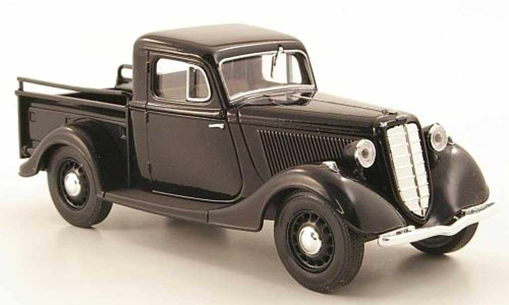 Gaz M415 1/43 Nash Avtoprom Pick Up noire miniature