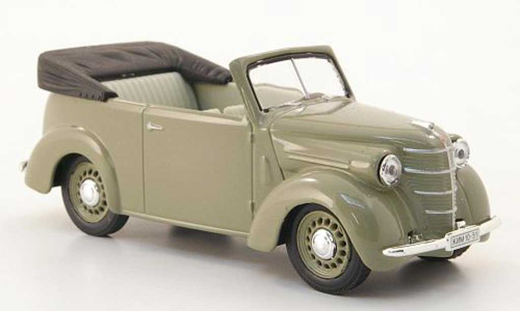 Kim 10-51 1/43 Nash Avtoprom Cabriolet grise miniature