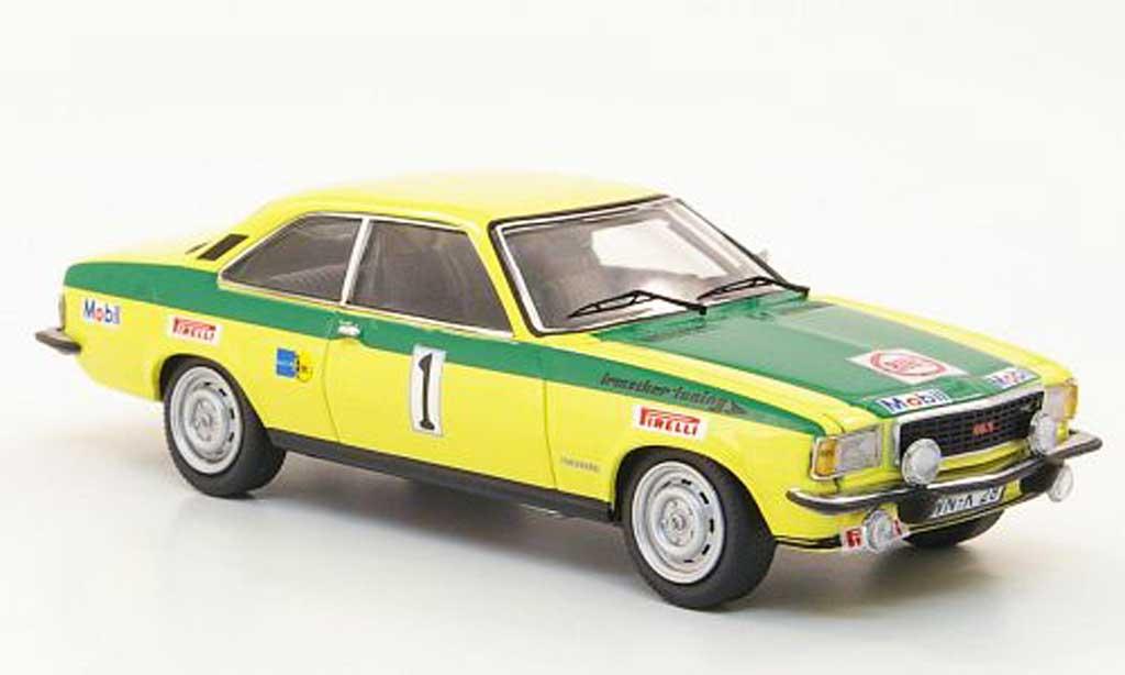 Opel Commodore B 1/43 Schuco GS/E No.1 Rohrl/Berger RIORally Regensburg 1973 miniature