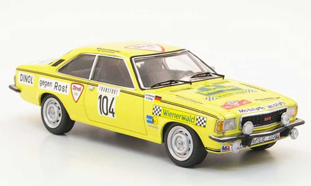 Opel Commodore B 1/43 Schuco GS/E No.104 Lyding/Klemenz Rally Monte Carlo 1976 miniature