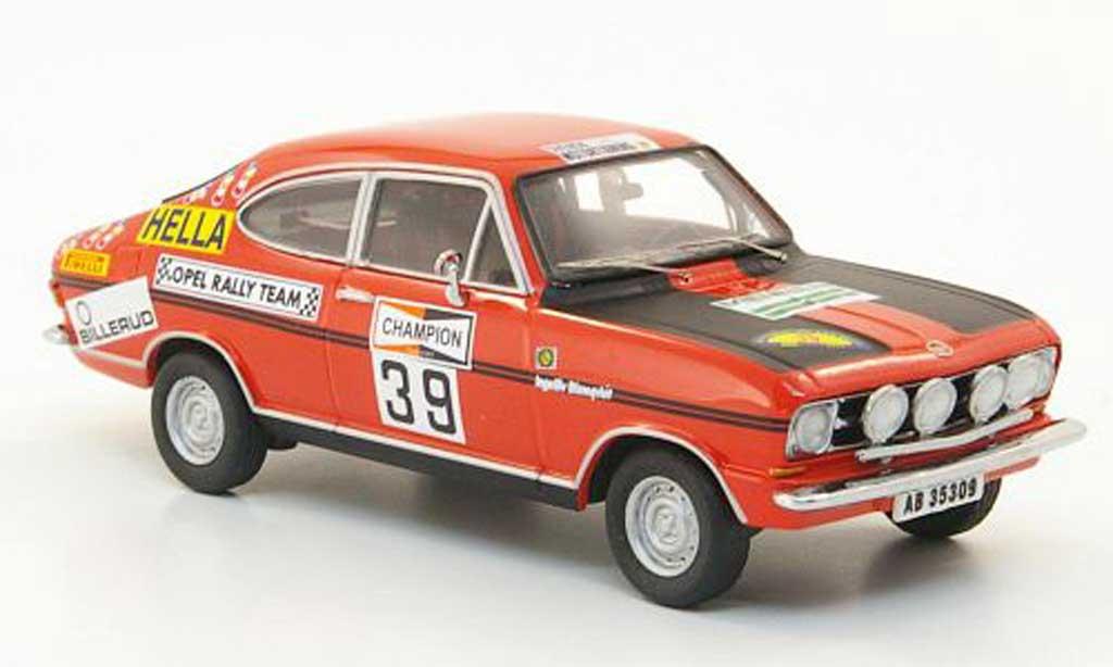 Opel Kadett B 1/43 Schuco Rallye No.39 lomquist/lomquist Rally Schweden 1971 miniature