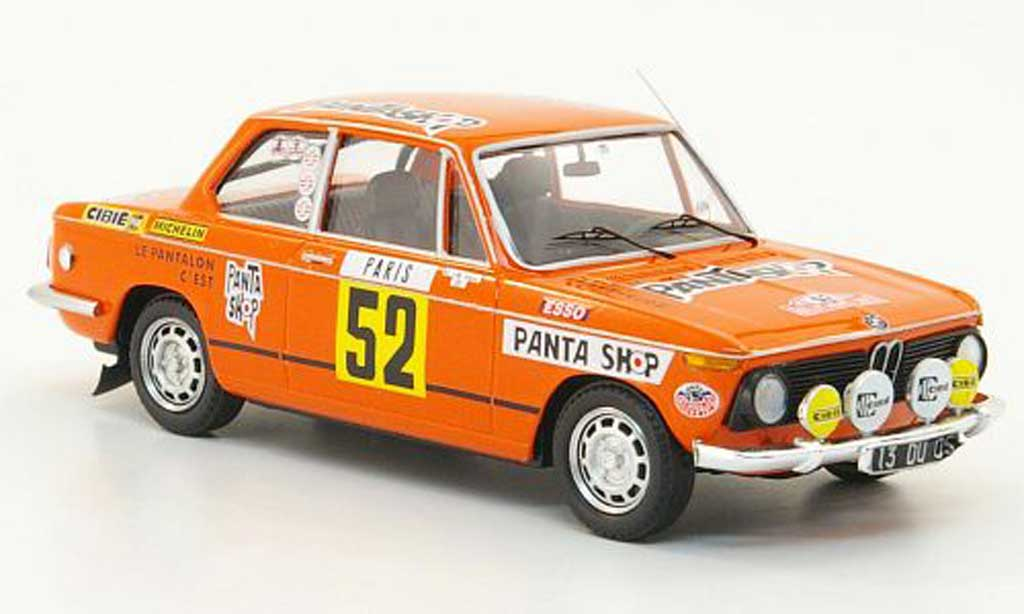 Bmw 2002 Tii 1/43 Trofeu No.52 Pantashop Dorche/Vieu Rally Monte Carlo 1977 miniature