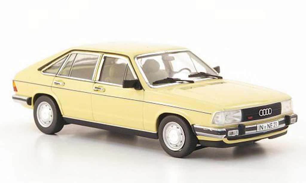 Audi 100 avant 1/43 Minichamps (C2) beige 1979 miniature