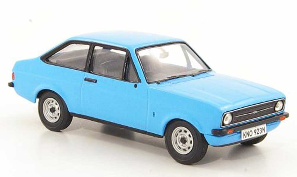Ford Escort MK1 1/43 Vanguards 1.1 Popular bleu RHD miniature
