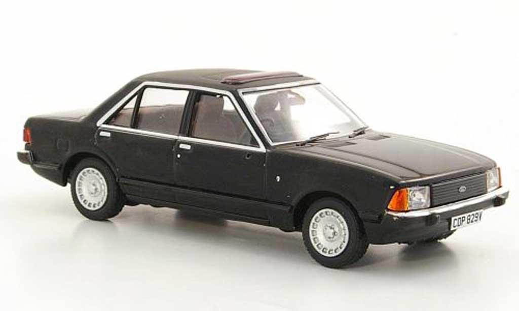 Ford Granada 1/43 Vanguards MkII 2.8i Ghia black RHD 1978 diecast