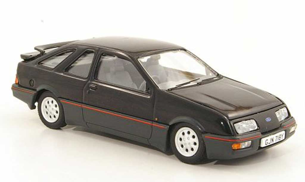 Ford Sierra XR4 1/43 Vanguards i black RHD diecast model cars