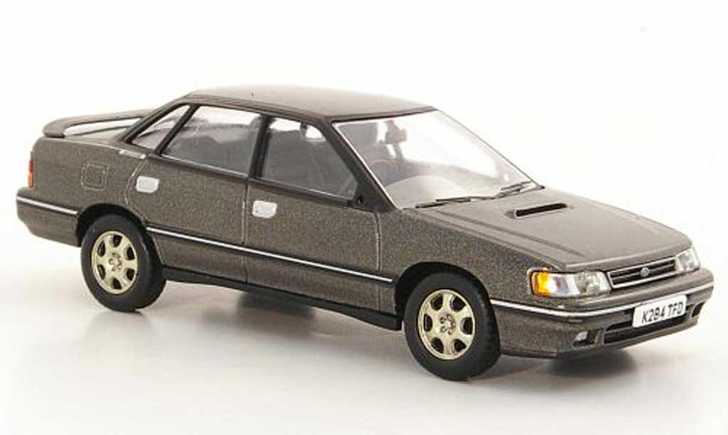 Subaru Legacy RS Turbo 1/43 Vanguards Serie 1 grise RHD miniature