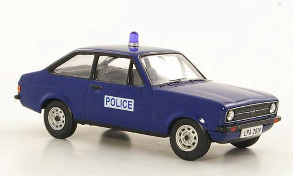Ford Escort MK2 1/43 Vanguards 1.1 Popular Surrey Police Polizei (GB) RHD miniature