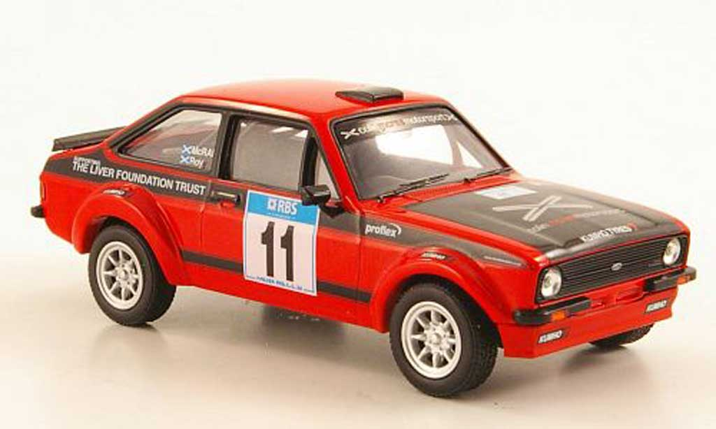 Ford Escort MK2 1/43 Vanguards MKll No.11 DJM Motorsport McRae / Roy miniature