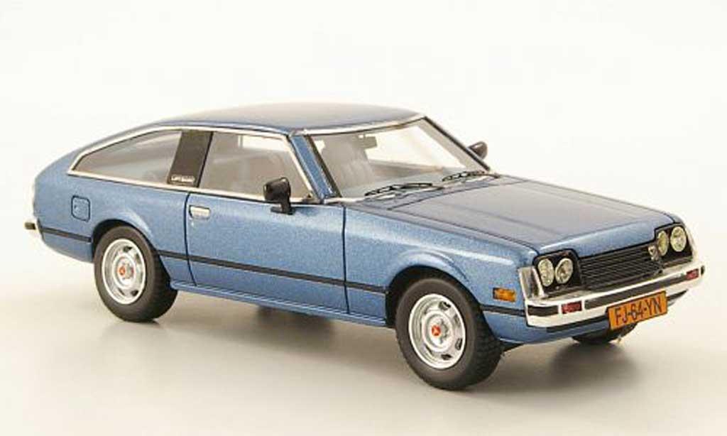 Toyota Celica 1979 1/43 Neo MK2 (A40) bleu miniature