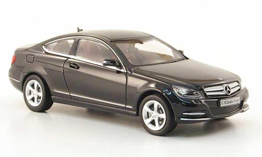 Mercedes Classe C 1/43 Norev Coupe (C204) nero 2011 miniatura
