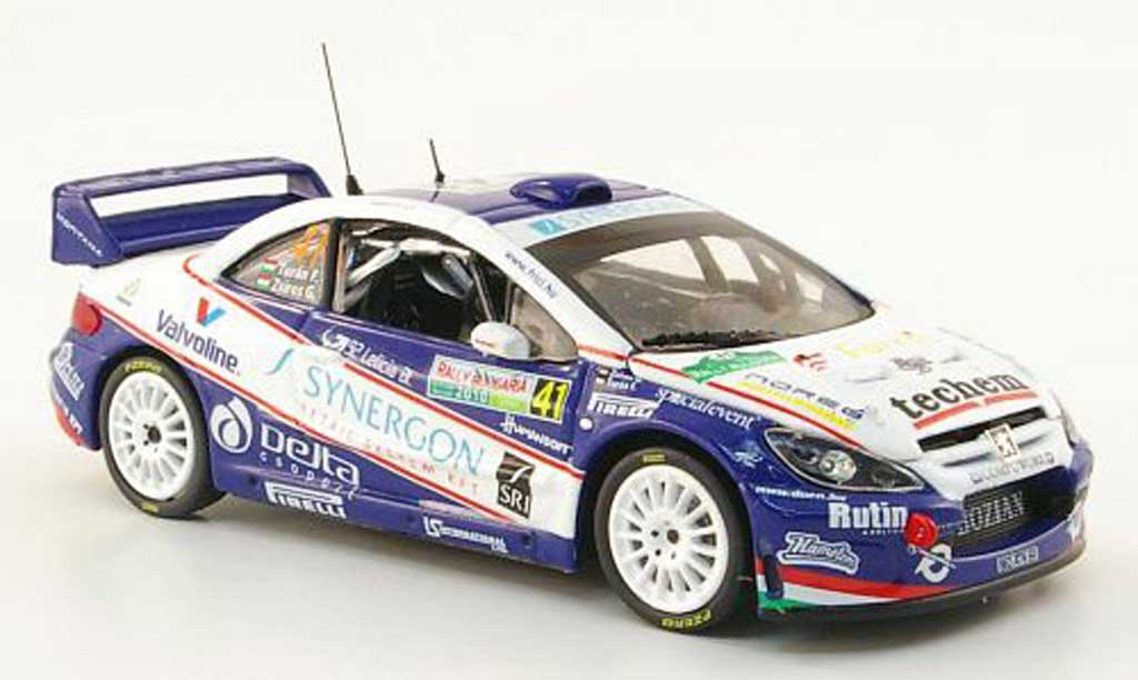 Peugeot 307 WRC 1/43 Vitesse No.41 Synergon Rally Bulgarien 2010 diecast model cars