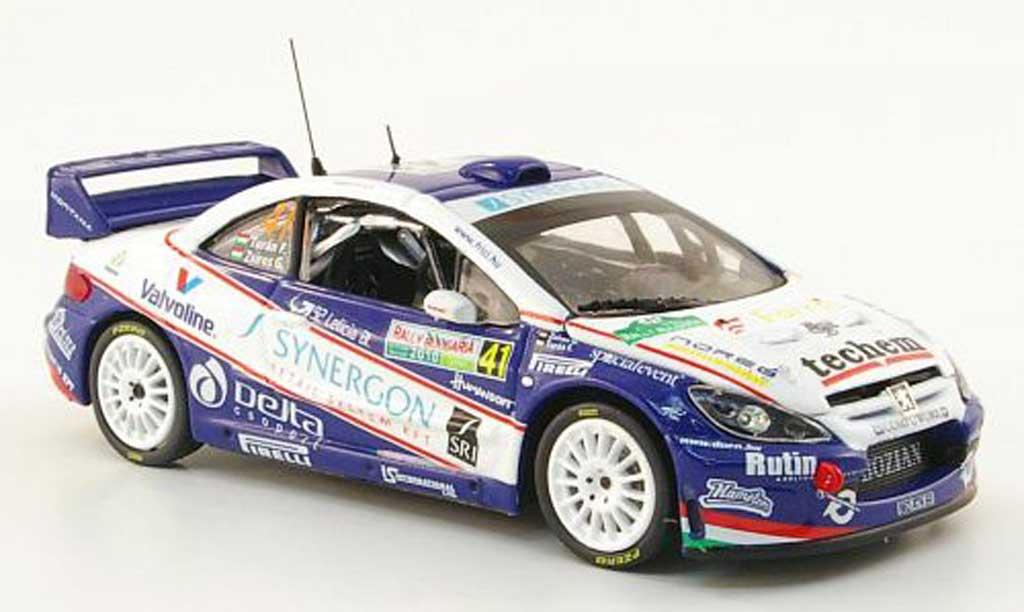 Peugeot 307 WRC 1/43 Vitesse No.41 Synergon Rally Bulgarien 2010 diecast