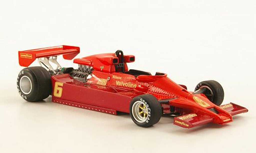 Lotus 78 1/43 Spark No.6 Imperial G.Nilsson GP Japan 1977