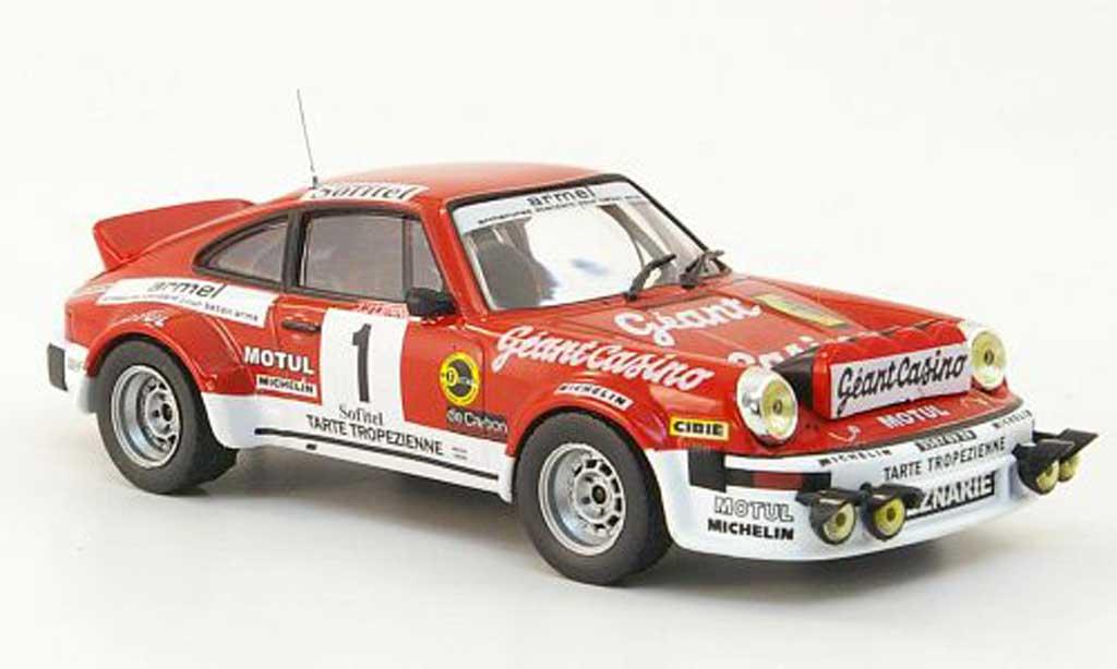 Porsche 930 1/43 Hachette 911 SC No.1 Geant Casino Rally Criterium des Cevennes 1979 miniature