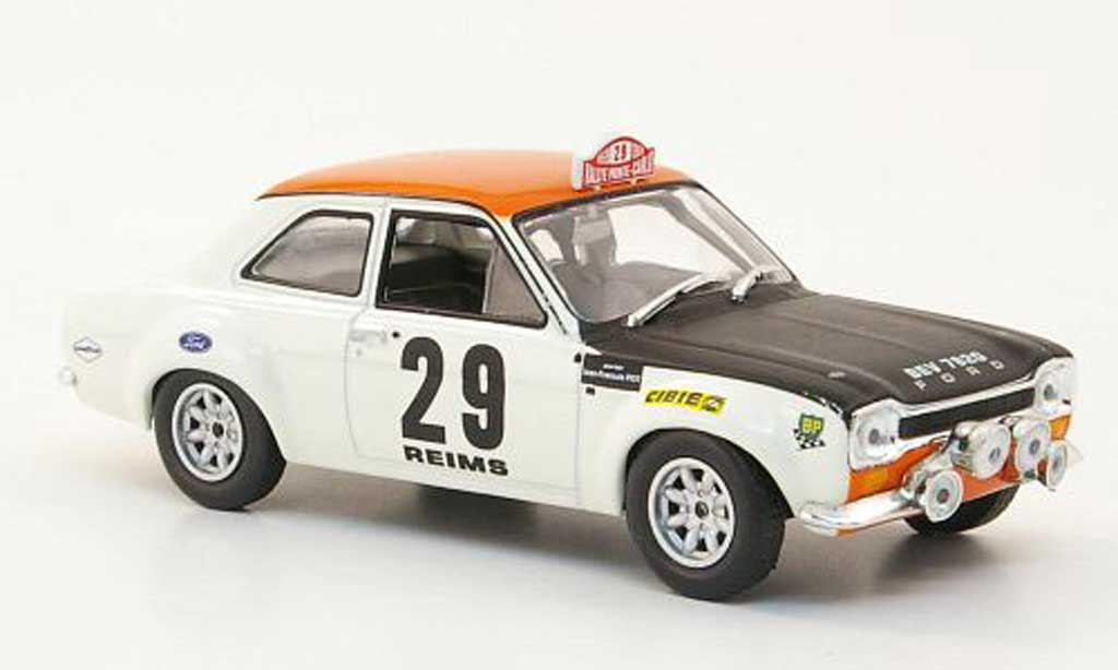 Ford Escort MK1 1/43 Hachette TC No.29 Rally Monte Carlo 1969 miniature