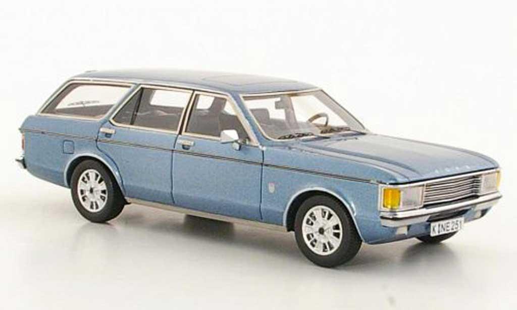 Ford Granada 1/43 Neo Mk I Turnier grisebleu 1972 miniature