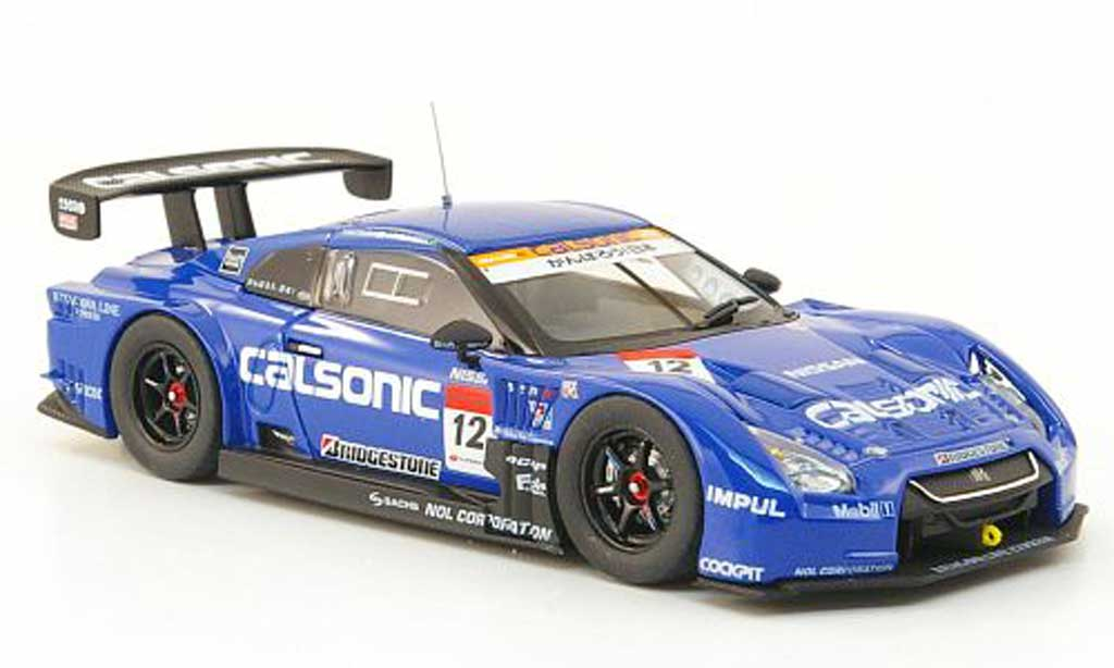 Nissan Skyline 1/43 Ebbro Impul GT-R No.12 Calsonic Super GT500 Runde 2 Fuji 2011