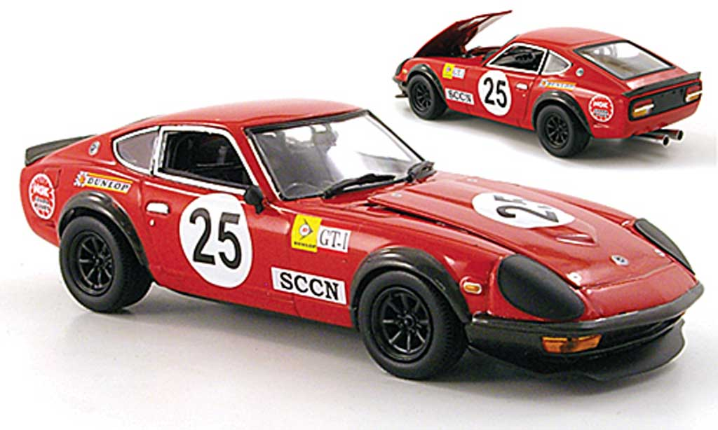 Datsun 240Z 1/43 Kyosho Sport Racing No.25 1000 Km Japan 1972