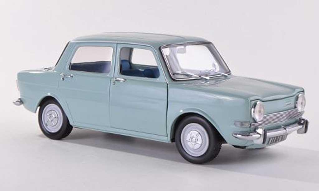 Simca 1000 1/18 Norev LS blue  1974 diecast
