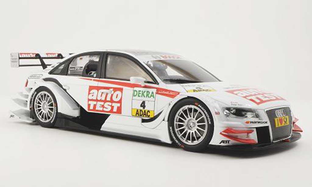 Audi A4 DTM 1/18 Norev No.4 Team Abt T.Scheider -Saison 2011 modellautos