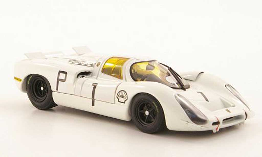 Porsche 908 1968 1/43 Ebbro No.1 Hockenheimring miniature