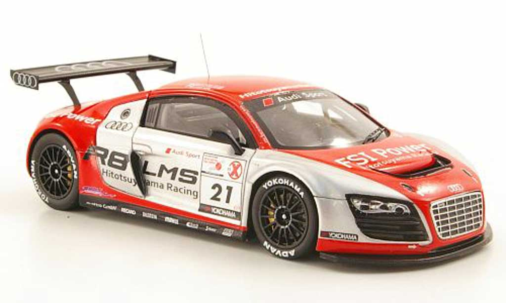 Audi R8 LMS 1/43 Ebbro No.21 Team Hitotsuyama Racing 2011 diecast model cars