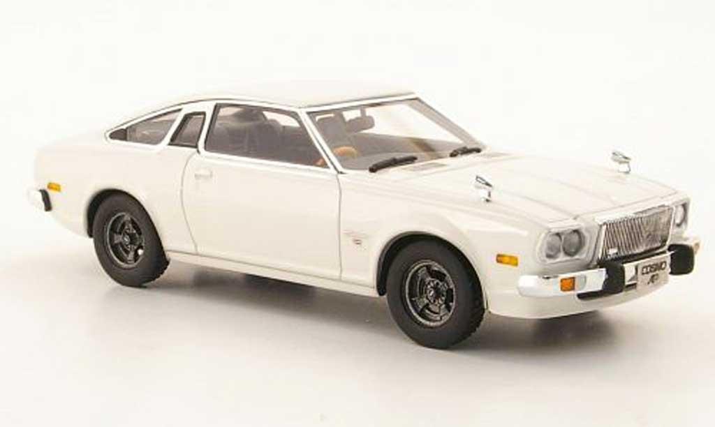 Mazda Cosmo 1/43 Hi Story AP Supercustom white RHD 1975 diecast
