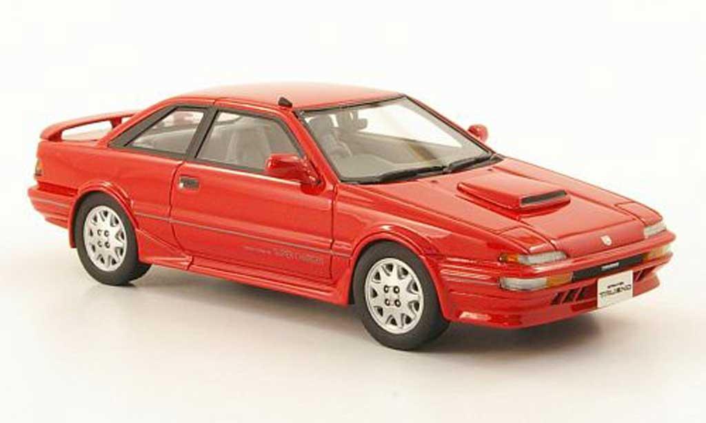 Toyota Trueno 1/43 Hi Story Sprinter GT-Z rouge RHD 1989 miniature