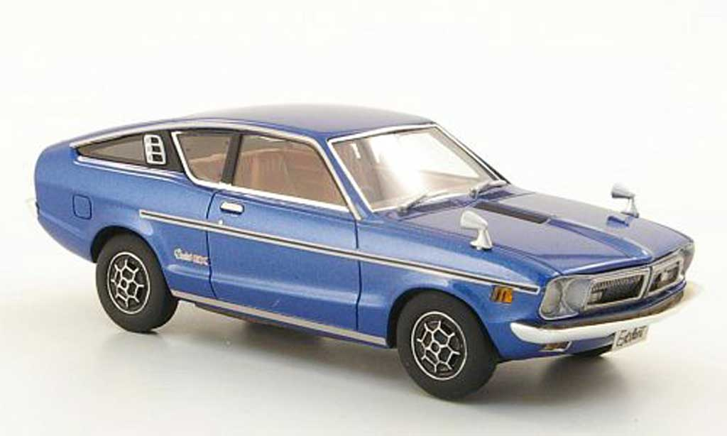 Nissan Sunny 1/43 Hi Story Coupe GX bleu RHD 1973 miniature