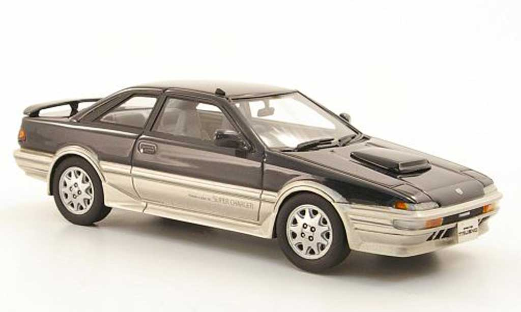 Toyota Trueno 1/43 Hi Story Sprinter GT-Z anthrazit/grise  RHD 1989 miniature